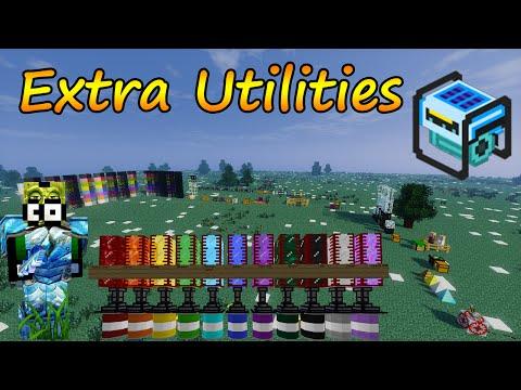 Minecraft 1.7.10 - Extra Utilities Mod / Español