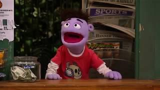 Крэш и Бернштейн - Сезон 1 серия 21 - Крэши Умные Штанишки | подростковый Сериал Disney
