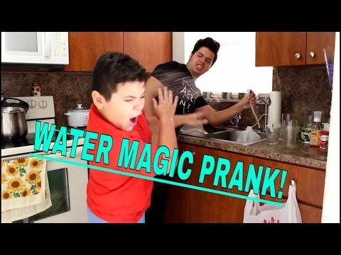 Water Magic TRICK PRANK!!!
