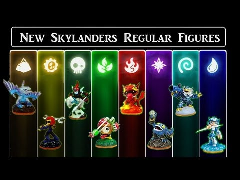 Skylanders Giants - Full Character Reveal, Release date, Review ...