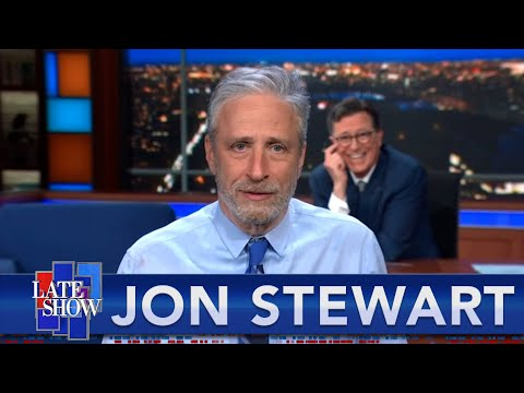Play this video Jon Stewart On Vaccine Science And The Wuhan Lab Theory