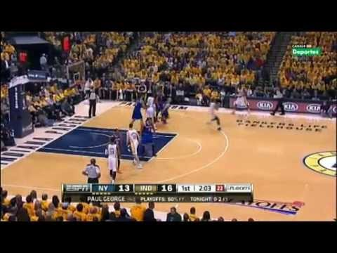 Playoffs Round 2 Game 3 New York Knicks vs Indiana Pacers Part 1 5-11-2013