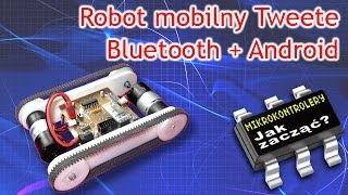 Tweete robot mobilny Bluetooth Android