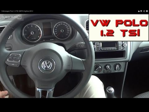 Volkswagen Polo 1.2 TSI 105PS Highline 2013