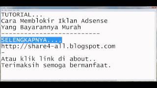 download lagu Cara Memblokir Iklan Adsense Yang Bayarannya Murah gratis