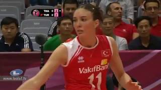 ไทย - ตุรกี Thailand - Turkey Volleyball World Grandprix 2012 - Ningbo