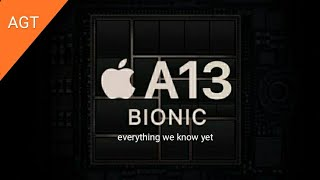 A13 chip specifications (expected)