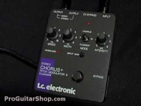 TC Electronic Stereo Chorus / Flanger