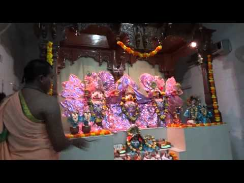 Iskcon Nellore Sandhya(evening) Aarti.avi video