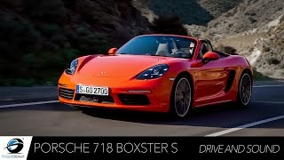 Porsche 718 Boxster S | 0-100 + Driving and Sound Accelerations