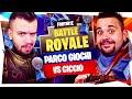 CICCIOGAMER89 vs GABBODSQ SU PARCO GIOCHI! BUILD FIGHT e POMPATE IN FACCIA - Fornite Battle Royale