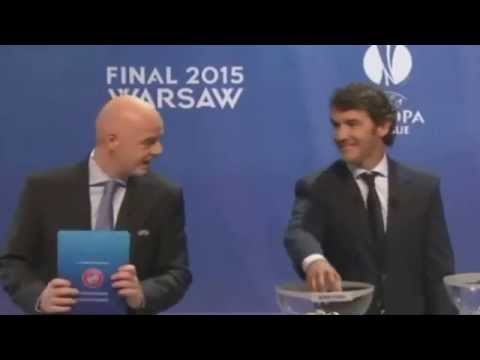 Champions League Draw Semi Finals 24 4 2015