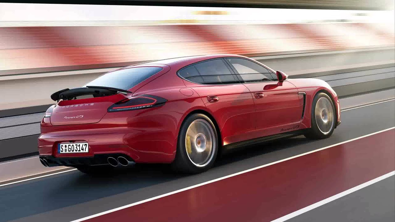 2015 Model Porsche Panamera Gts Youtube