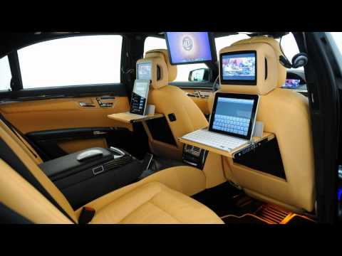 2011 Brabus Mercedes-Benz iBusiness SV12 R Music Videos