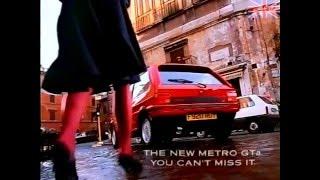 Austin Rover - Metro GTa - Advert - \
