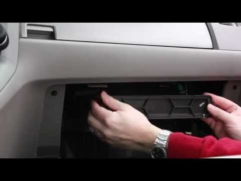 How to change Cabin Air Filter on a 2010 Honda CRV