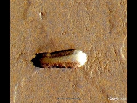 Did NASA find Ancient Spaceships on Mars?
