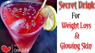 Weight Loss & Glowing Skin Drink | Healthy Drink Recipe | Hibiscus Flower Juice | PW#335