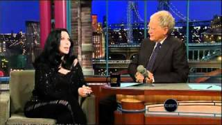 Cher - The Late Show With David Letterman (11.11.2010) part 2