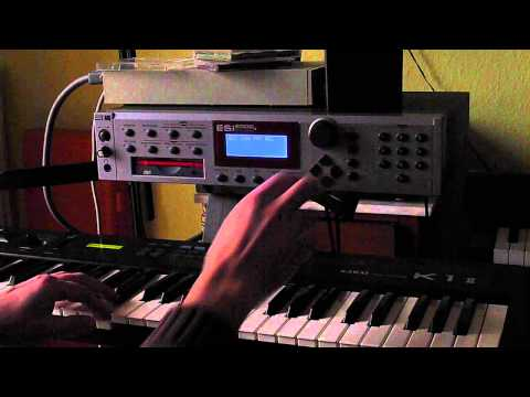 ESI 2000 / 4000 / 32 #oldschool Sampler Demo, a few of my favorite sounds
