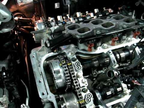 2010 Toyota Camry Vvt Gear Install Youtube
