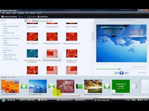 Jak Zrobić Animację - Film Ze Zdjęciami Z Muzyką? Windows Movie Maker