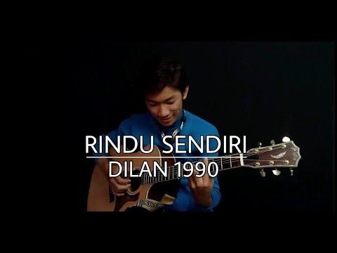Rindu sendiri   Dilan 1990  Fingerstyle Guitar Cover  Arr by Hansen Vendi Agus
