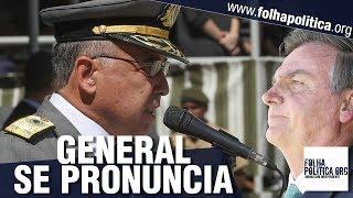 General Dutra faz pronunciamento impactante diante do presidente Jair Bolsonaro - Agulhas..