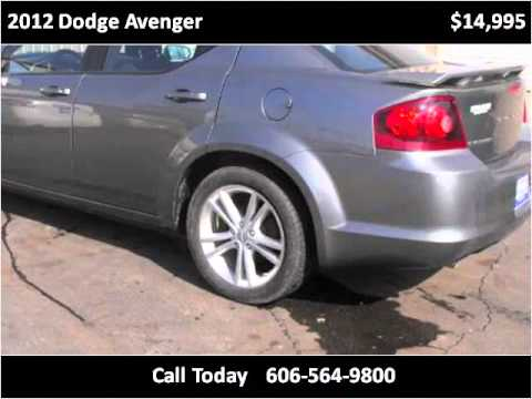 2012 Dodge Avenger Used Cars Maysville KY