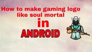 How to make gaming logo | how to make gaming logo like mortal |
