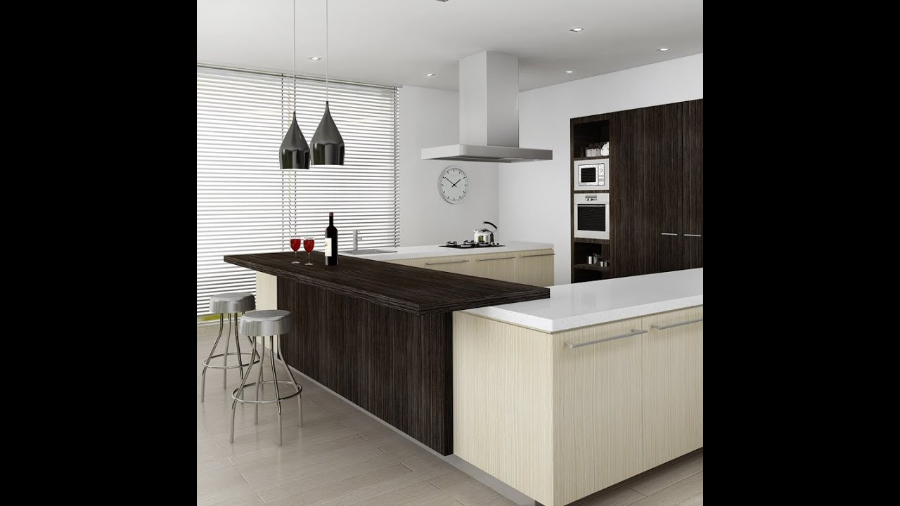 Kitchen Design Images Free: 3ds Max Making Of Kitchen (fast Forward)