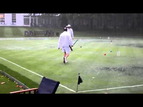 Hurlingam Golf Croquet 'Summer' 2012 - Tudor Jenkins v Tim King