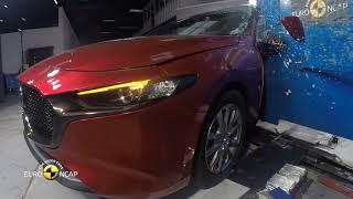 Euro NCAP Crash Test of Mazda 3 2019
