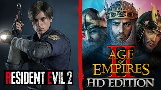 Resident Evil 2 Remake - Speedrun + Age of Empires II: The Age of Kings - En Español