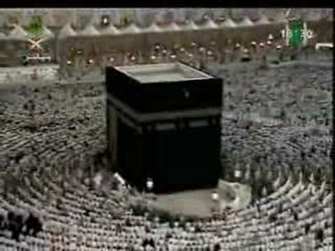 Beautiful recitation of Quran by Imam Juhany in Mecca