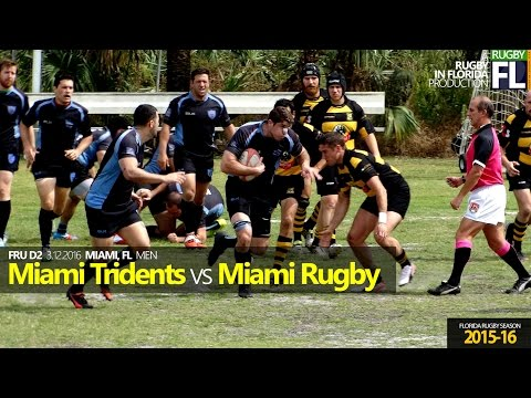 Highlights - Miami Rugby FC (17) vs Miami Tridents (39)