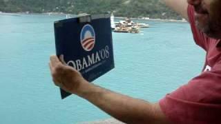 Stumping For Obama In Haiti
