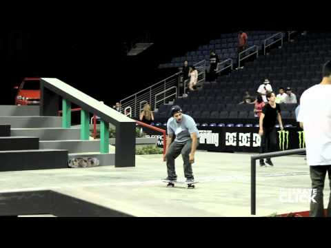 Paul Rodriguez switch flip big section SLS Ontario 2012