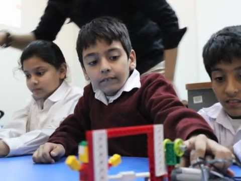 Washington International School DHA Phase 8 visits Robotics Labs