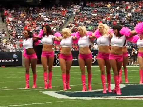 Texans Cheerleaders 10/10/10