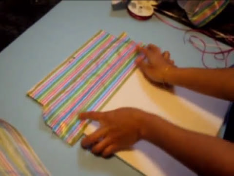 Artes y Manualidades: Como hacer organizador Para cartas o documentos importantes.