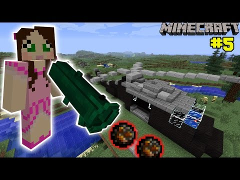 Minecraft: INSANE BAZOOKA MISSION - The Crafting Dead [5]