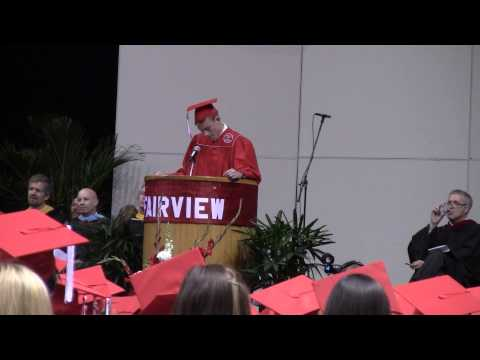 Fairview High School 2013 Graduation Speech