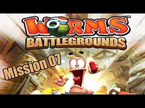 Worms Battlegrounds Story Mission 07 Walkthrough: Brain Freeze