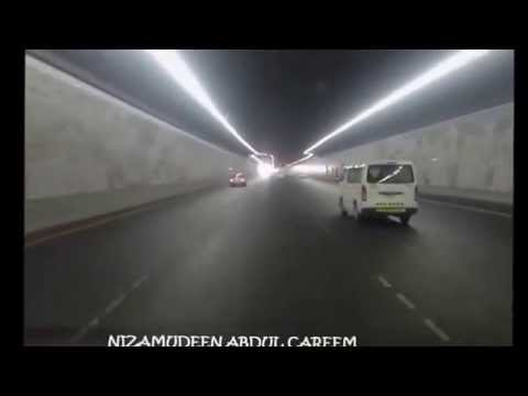 Sheikh Zayed tunnel Abu Dhabi One of the longest road tunnels in Middle East