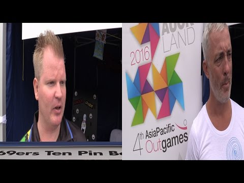 Bent TV: Queue Sport (Melbourne 69ers 10 Pin Bowling, 4th Asia Pacific Outgames), 28AUG15