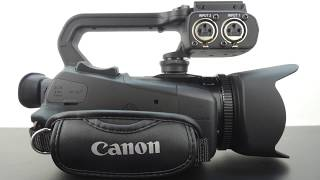 Canon XA30 Professional Camcorder Unboxing And Hardware Review!