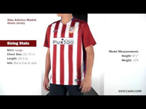 Nike Atletico Madrid Home Jersey 15 16