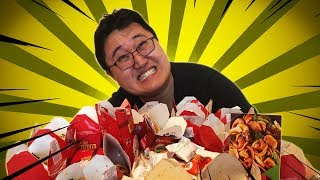 "Chinese Guy Eats Everything at China in Box (Brazilian ""Chinese Food"")"