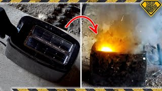 Do Firecrackers Explode in Toasters?